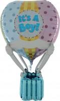 Silberfolienballon It's a Boy