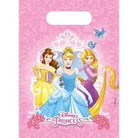 Princess 6 Partybeutel Princess 16x23cm