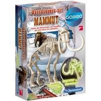 Ausgrabungsset Mammut FLUO
