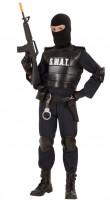 Kostüm S.W.A.T. Agent 164cm