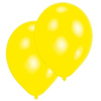 10 Ballone gelb 27.5cm