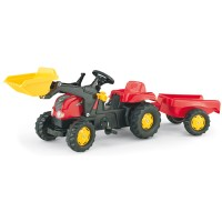 Rolly Toys rollyKid-X mit Anhänger+Lader