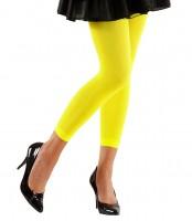 Gelbe Leggings