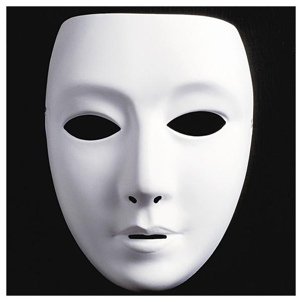 MÜLLER FESTARTIKEL Maske zum bemalen Frau