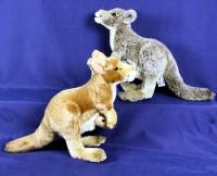 Plüsch Känguru mit Baby
