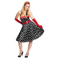 RUBIES Kleid 50-er schwarz Gr.42