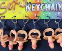 Penisschnuller als Schlüsselanhänger