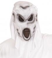 Geister Maske mit Kapuze