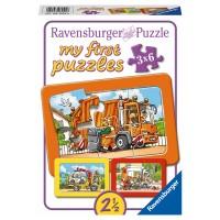 RAVENSBURGER Puzzle Müllabfuhr, Ambulanz