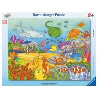 RAVENSBURGER Puzzle Fröhliche Meeres-
