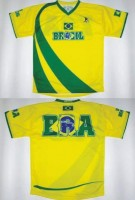 T-Shirt Brasilien (Kindergrösse) M/L