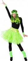 Neongrüner Petticoat L/XL