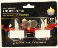 LED-Teelicht 2er-Set