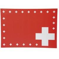 Weco 8 Tischsets Schweizerkreuz