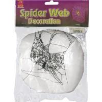 Spinnen-Netz mit Spinnen