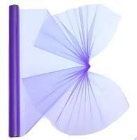 Dekostoff Organza lila