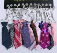 12 Schlüsselanhänger Krawatte