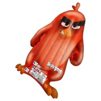 HAPPY PEOPLE Luftmatratze Angry Birds Red