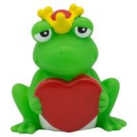 Sombo Badeente Frosch mit Herz