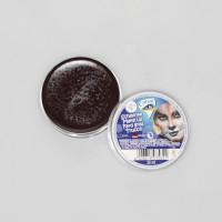 Schminke Make-up in Dose, braun, 30ml