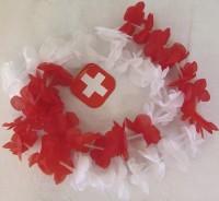 Hawaiikette rot/weiss Schweiz