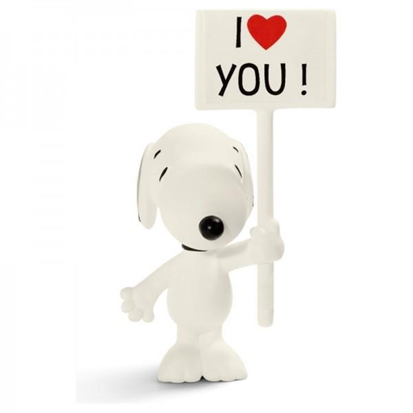 Peanuts Snoopy I Love You!