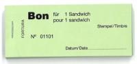 Bon für 1 Sandwich