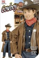 Cowboy - Mantel mit Gilet 128cm