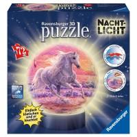 RAVENSBURGER Puzzleball Pferde Nachtlicht