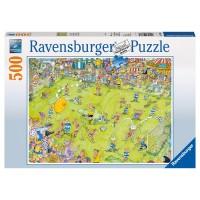 RAVENSBURGER Puzzle Beim Fussballspiel