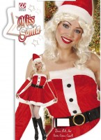 Kostüm Weihnachtsfrau XL