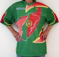T-Shirt Portugal für Kinder L