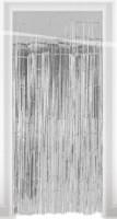 Türvorhang silber