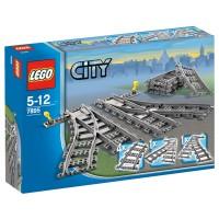 LEGO CITY Weichenpaar