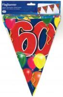 Wimpelkette Birthday Ballone 60 Jahre