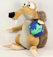Scrat mit Globus
