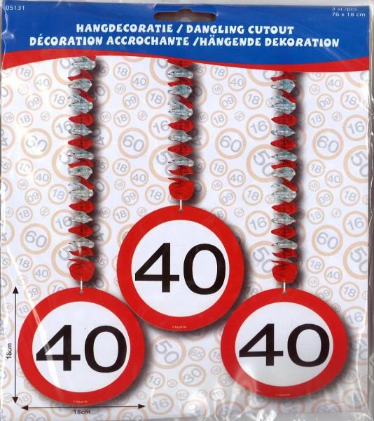 Rotorspiralen Verkehrsschild 40 Jahre