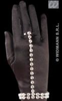 Handkette aus Strass mit Ring