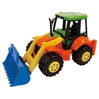 ADRIATIC Traktor mit Baggerschaufel