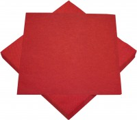 Rote Airlaid Servietten