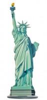 Freiheitsstatue Tischdeko