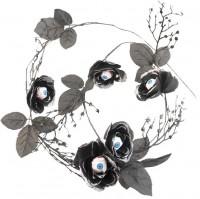 Dekorosen mit blutigen Augen