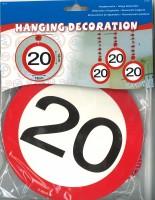 Rotorspiralen Verkehrsschild 20 Jahre