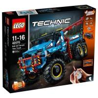 LEGO TECHNIC Allrad-Abschleppwagen