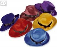 Hut Gangster farbig