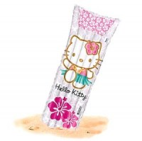 Hello Kitty Luftmatratze grau pink