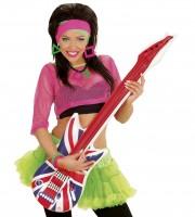 Gitarre Englandflagge