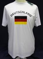 T-Shirt Deutschland (Kindergrösse) 122cm