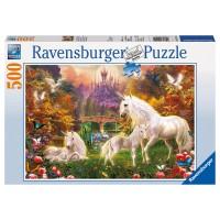 RAVENSBURGER Puzzle Zauberhafte Einhörner