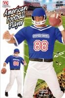 Kostüm Amerikanischer Footballspieler M